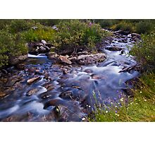 Rock Creek Near Mosquito Flats Photographic Print