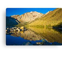 Morning at Convict Lake Canvas Print