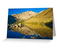 Morning at Convict Lake Greeting Card