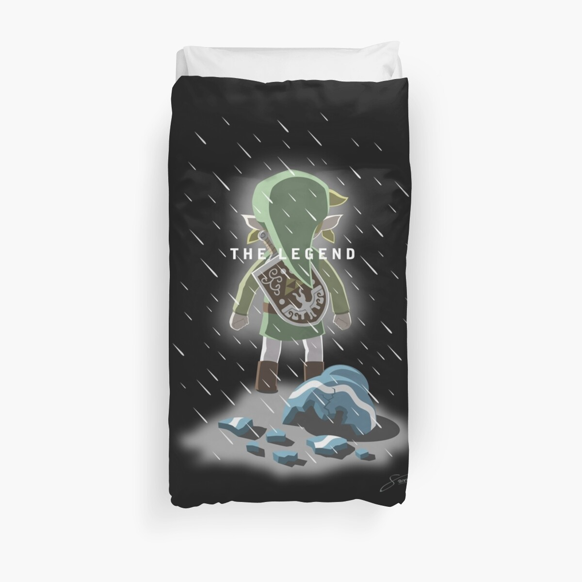 Quot The Legend Of Broken Pots Quot Duvet Covers By Mrlunarbeam