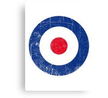 Cocarde RAF UK Canvas Print