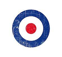 Cocarde RAF UK Photographic Print
