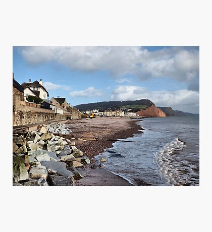 Sidmouth . Devon. Photographic Print