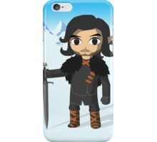 Link Does Jon Snow Cosplay - No text iPhone Case/Skin