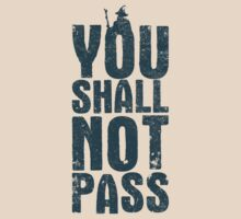 You shall not pass by Nxolab