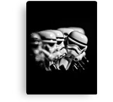 Stormtrooper distracted Canvas Print