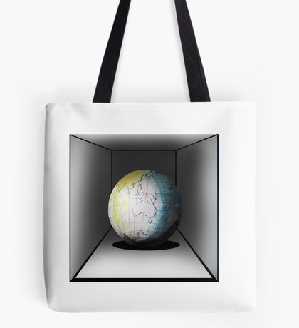 Globe in a box - seriously! Tote Bag