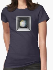 Globe in a box - seriously! Womens Fitted T-Shirt