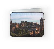 Edinburgh Castle and skyline Laptop Sleeve
