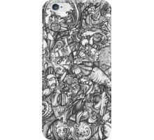 Doodle thingy 01 iPhone Case/Skin
