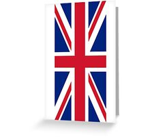 Flag of Great Britain - UK Flag Duvet Cover Sticker and Shirt Greeting Card