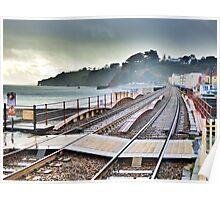 Dawlish Railway Rebuilt. Poster