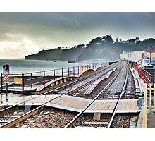 Dawlish Railway Rebuilt. Photographic Print