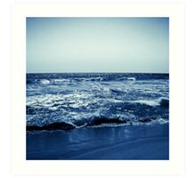 Waves in Blue Art Print