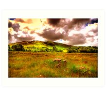 The hills of Donegal  Art Print