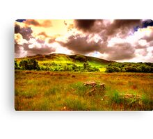 The hills of Donegal  Canvas Print