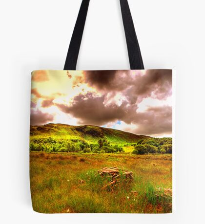 The hills of Donegal  Tote Bag