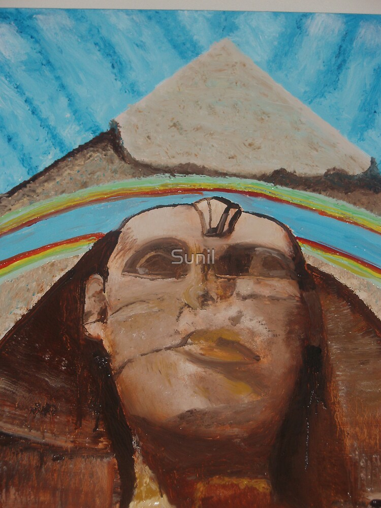 Great Sphinx of Giza  by Sunil