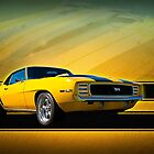 Yellow 1969 Camaro SS by Stuart Row
