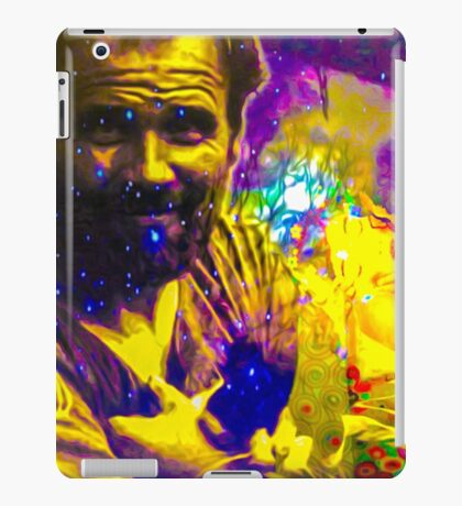 Colorful Gustav Klimt's world iPad Case/Skin