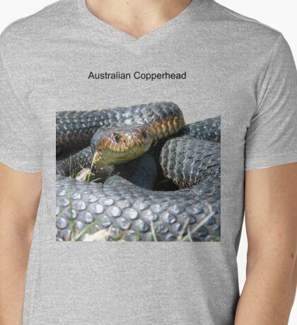 Copperhead Mens V-Neck T-Shirt
