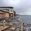 Dawlish railway Station.  by Lilian Marshall