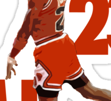 Michael Jordan 23 Sticker