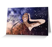 Galaxy Greeting Card