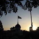 Sunset from Tarzan's Treehouse by cfam