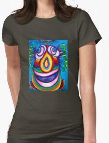 Rainbow Hand Drawn Face T-Shirt