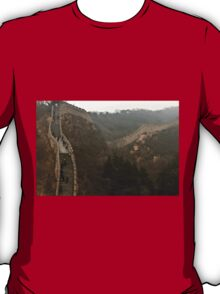 The Great Wall Of China At Badaling - 7 © T-Shirt