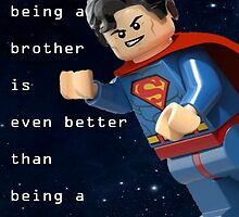 Sometimes being a brother is even better as being superman (1) by steinbock
