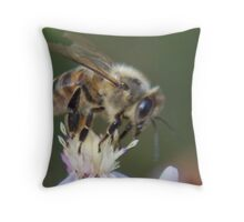 King Of The Flower Throw Pillow