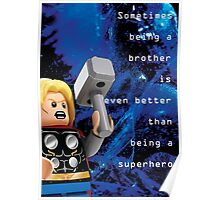 Sometimes being a brother is even better as being Thor (1) Poster