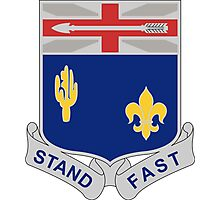 155th Infantry Regiment - Stand Fast Photographic Print