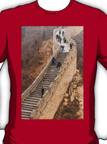 The Great Wall Of China At Badaling - 9 - A Close Up ©  T-Shirt