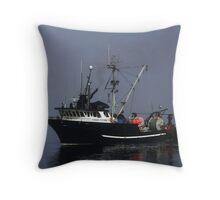 Viking Storm Throw Pillow