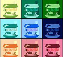 Nutella Pop Art by Neon2610