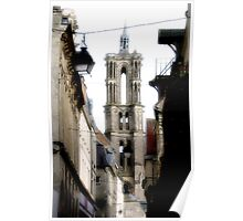 Laon Cathedral  Poster