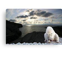 1003-Polar Midnight Sun Headache Canvas Print