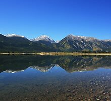 Twin Lakes Co. Mirror image by jdkerby
