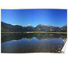 Twin Lakes Co. Mirror image Poster