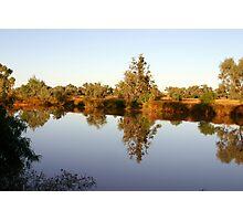 Nature's Mirror ~ Diamantina Lakes National Park Photographic Print