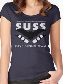 SUSS Cave Diving Team Women's Fitted Scoop T-Shirt
