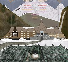Grand Overlook Hotel by Doug Schultheis