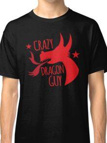 Crazy Dragon guy Classic T-Shirt