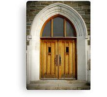 Doors of Forgiveness Canvas Print
