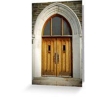 Doors of Forgiveness Greeting Card