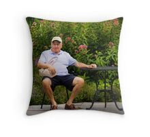 Here, Hold this Throw Pillow