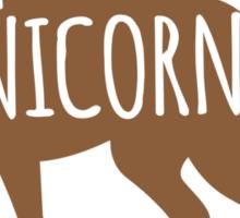 Crazy unicorn guy Sticker